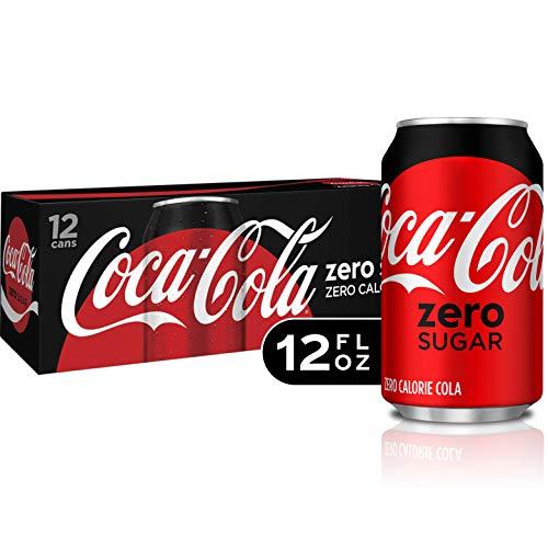 - Coke Zero Sugar Diet Soda Soft Drink, 12 fl oz, 12 Pack