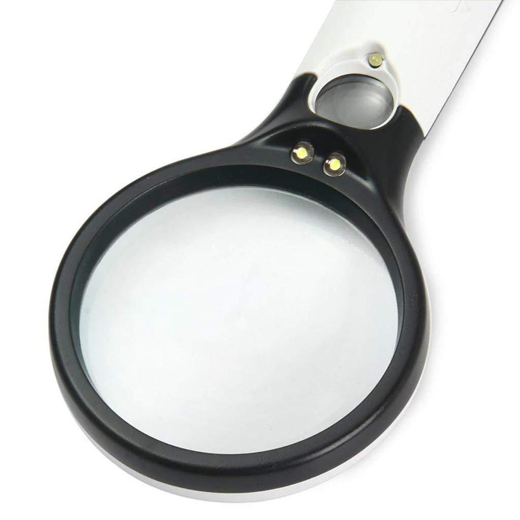 0,87 Pouces LED gazechimp Loupe De Poche /à Loupe 10X 20X De 2,95 Pouces