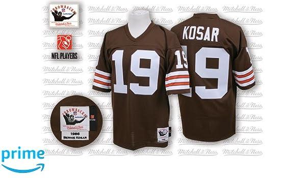 buy popular 9ce27 20151 Amazon.com: Bernie Kosar 1986 Browns Mitchell & Ness Jersey ...