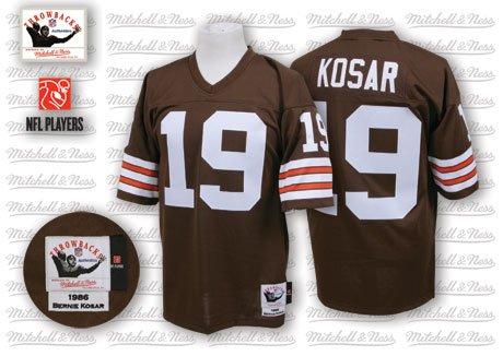 buy popular 52fb3 e85e7 Amazon.com: Bernie Kosar 1986 Browns Mitchell & Ness Jersey ...