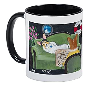 CafePress - The Heart Of The Ocean Pembroke Welsh Corgi Mug - Unique Coffee Mug, Coffee Cup