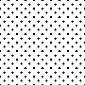 WallsByMe Peel and Stick White and Black Cross Geometric Removable Wallpaper 2016