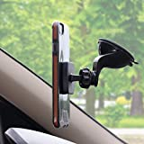 Magnetic Cell Phone holder, Dashboard and Windshield Mount, Universal Car phone holder for Smartphones