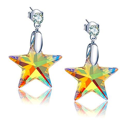 Swarovski Star Earrings (EleShow