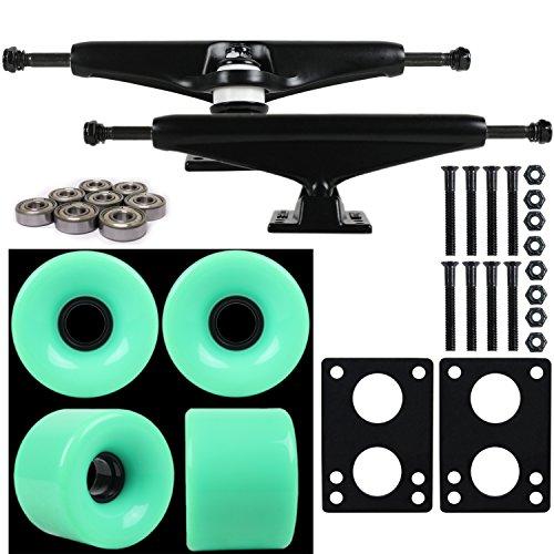 longboard trucks and wheels set - 4