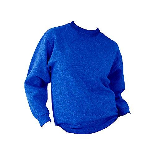 Adulte Épais Ucc Uni Noir Unisexe Sweatshirt BtqwS