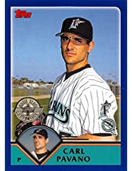 2003 Topps Home Team Advantage #613 Carl Pavano NM-MT Marlins