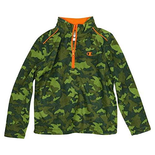 Champion Boys Camouflage Camo Fleece Quarter Zip Pullover Jacket