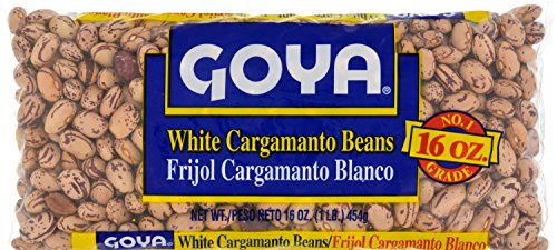 Goya Foods Dry White Cargamanto Beans, 1 Pound (pack of 24) by Goya