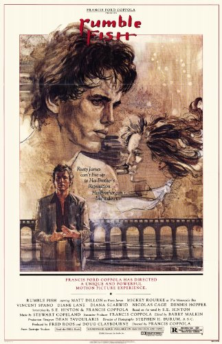 Rumble Fish Poster Movie B 11x17 Matt Dillon Mickey Rourke Dennis Hopper Diane Lane