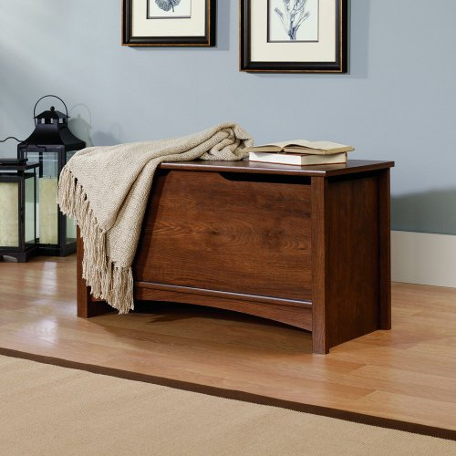 Sauder Shoal Creek Storage Chest, Oiled Oak