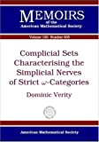 img - for Complicial Sets Characterising the Simplicial Nerves of Strict ? Categories (Memoirs of the American Mathematical Society) book / textbook / text book