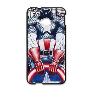 HTC One M7 Captain America pattern design Phone Case