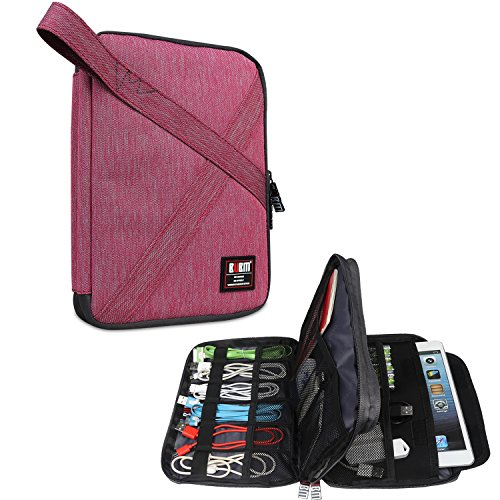 BUBM Electronic Accessories Organizer, Double Layer Travel