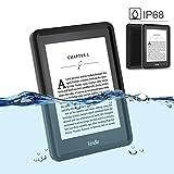 Idealforce Kindle E-Reader Waterproof Case,Snowproof Shockproof Dirtproof IP68 Deep Waterproof Diving Touch Case for Kindle Oasis/Kindle Paperwhite 2GT/Kindle Fire/Kindle Fire HD8 (Kindle Oasis)