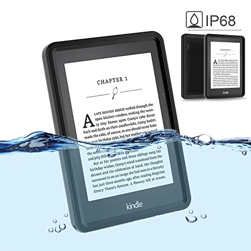 Idealforce Kindle E-reader Waterproof Case,Snowproof Shockproof Dirtproof IP68 Deep Waterproof Diving Touch Case for Kindle Oasis/Kindle Paperwhite 2GT/Kindle Fire/Kindle Fire HD8 (Kindle Oasis) by Idealforce