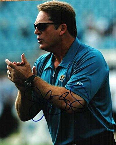 Jack Del Rio Signed - Signed Jack Del Rio 8x10 Photo Jacksonville Jaguars Photo. - Certified Autograph