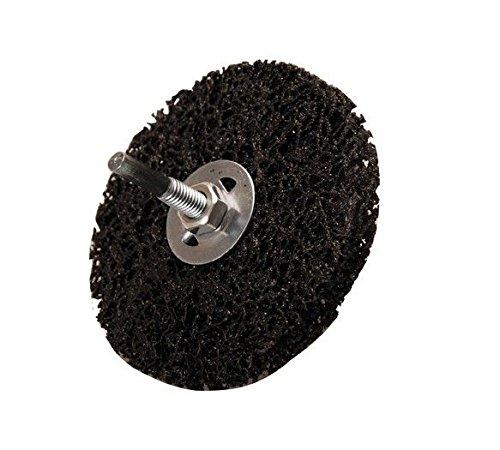/Ø 100 mm schwarz Abrasiv-Schleifscheibe Aufnahmebohrung 16 mm BGS 3978