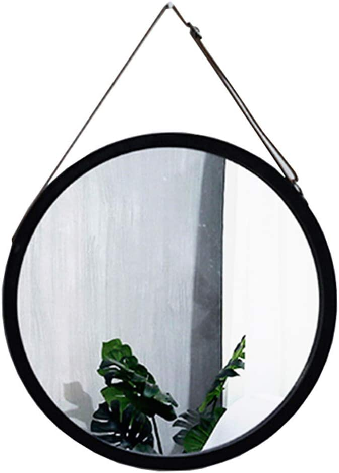 Bathroom Furniture / Bathroom Mirrors / Makeup Mir Wall Hanging Mirror for Wall Decor, Metal Makeup Mirror with Hanging Strap,Creative Makeup Iron Mirrors for - Bathroom - - Living Room - Hallway - An