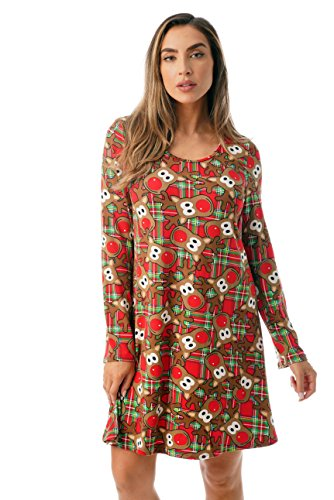 Just Love Ugly Christmas Dress Fun Xmas Party Outfit 401582-10336-2X