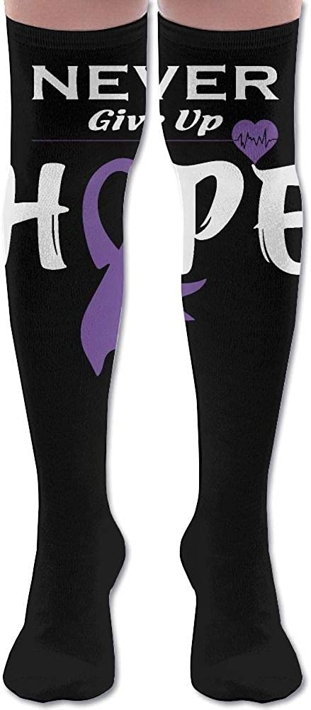 Unisex Pancreatic Cancer Awareness-1 Knee High Compression Thigh High Socks Soft Socks