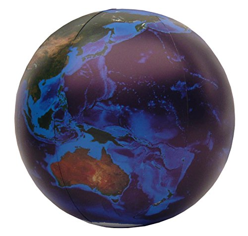 Jet Creations Inflatable Globe, Blue Marble, 36
