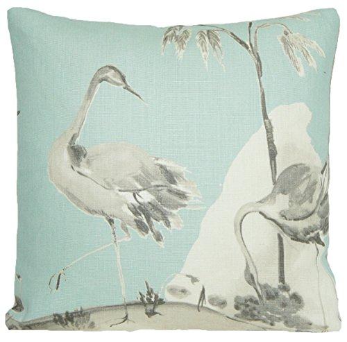 (Duck Egg Cushion Cover Decorative Pillow Throw Osborne and Little Linen Fabric Palais Chinoise )