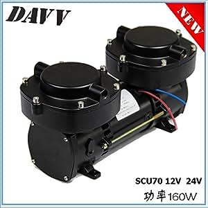 Davv 12v 160w oil less diaphragm pump hookah - Hookah dive compressor ...