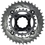 Truvativ Truvativ Crank 10-speed Chainring Set 38-24t with X9 Specialized GXP Spider 49 Chainline 104/64 BCD Chainrings [104 BCD]