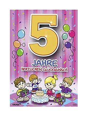 Depesche 5598 010 Gluckwunschkarte Mit Motiv Von Archie 5
