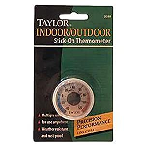 Amazon Com Taylor Stick On Thermometer Mini Home Amp Kitchen