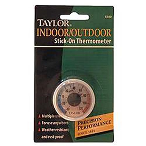Taylor Stick On Thermometer Mini Thermometers Patio
