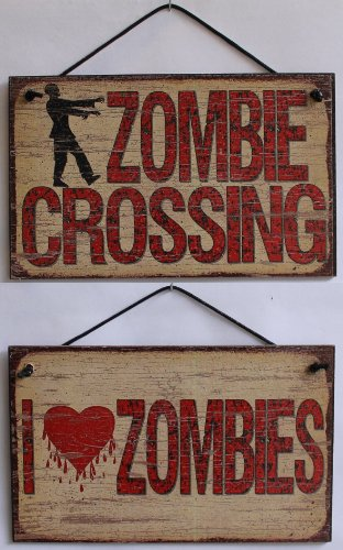 5x8 Vintage Style Signs (2-Pack) Saying,