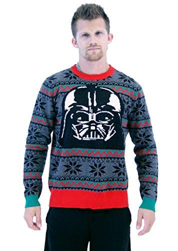 Star Wars Darth Vader Mask Ugly Christmas Sweater