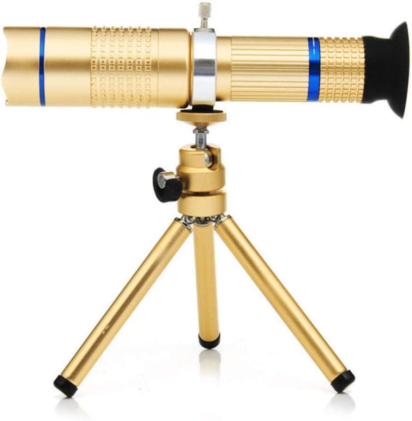 YHWWSJJT Reloj de Bolsillo 6X HD Zoom Teléfono móvil Telescopio ...