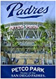 MLB San Diego Padres Two Sided Stadium View Vertical Banner, 28 x 40-Inch