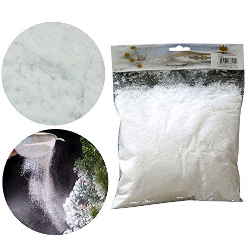 - KICODE Xmas Magic Christmas Instant Snow Powder Snowfake Prop Scene Maker Decorations Xmas Tree Artificial