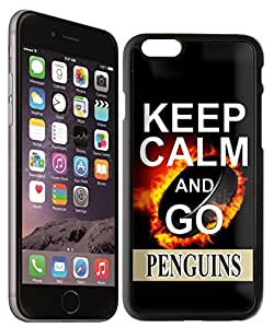 NHL Pittsburgh Penguins Design iPhone 6 Snap On Case by supermalls