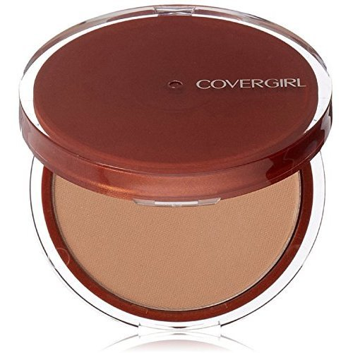 CoverGirl Clean Pressed Powder Compact, Soft Honey [155], 0.39 oz (Pack of (Soft Compact Powder)