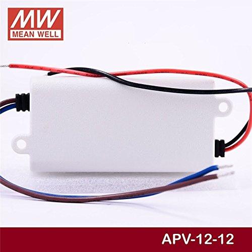 Meanwell apv-12-12 alimentación fuente de alimentación 12w 12v 1a constante tensión 855879