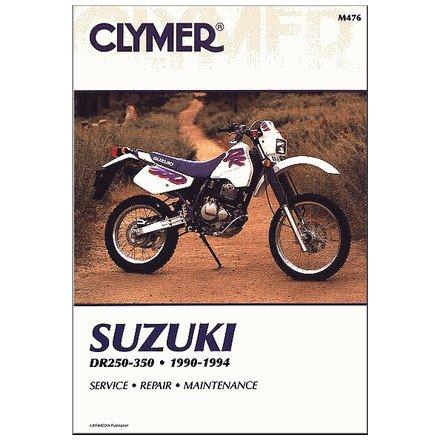 amazon com 90 94 suzuki dr350 clymer service manual automotive rh amazon com suzuki dr 350 manual free download suzuki dr 350 manuel
