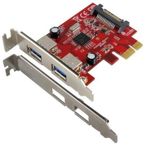 Visiontek 900598 USB 3.0 PCIe Expansion Card 2-portPCI Express - Plug-in Card - 2 USB Port(s)