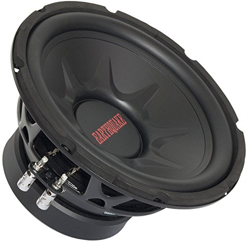 Earthquake Sound TNT-10DVC 10-inch Subwoofer with Dual 4-ohm Voice Coil (10 Inch Earthquake Subwoofer)