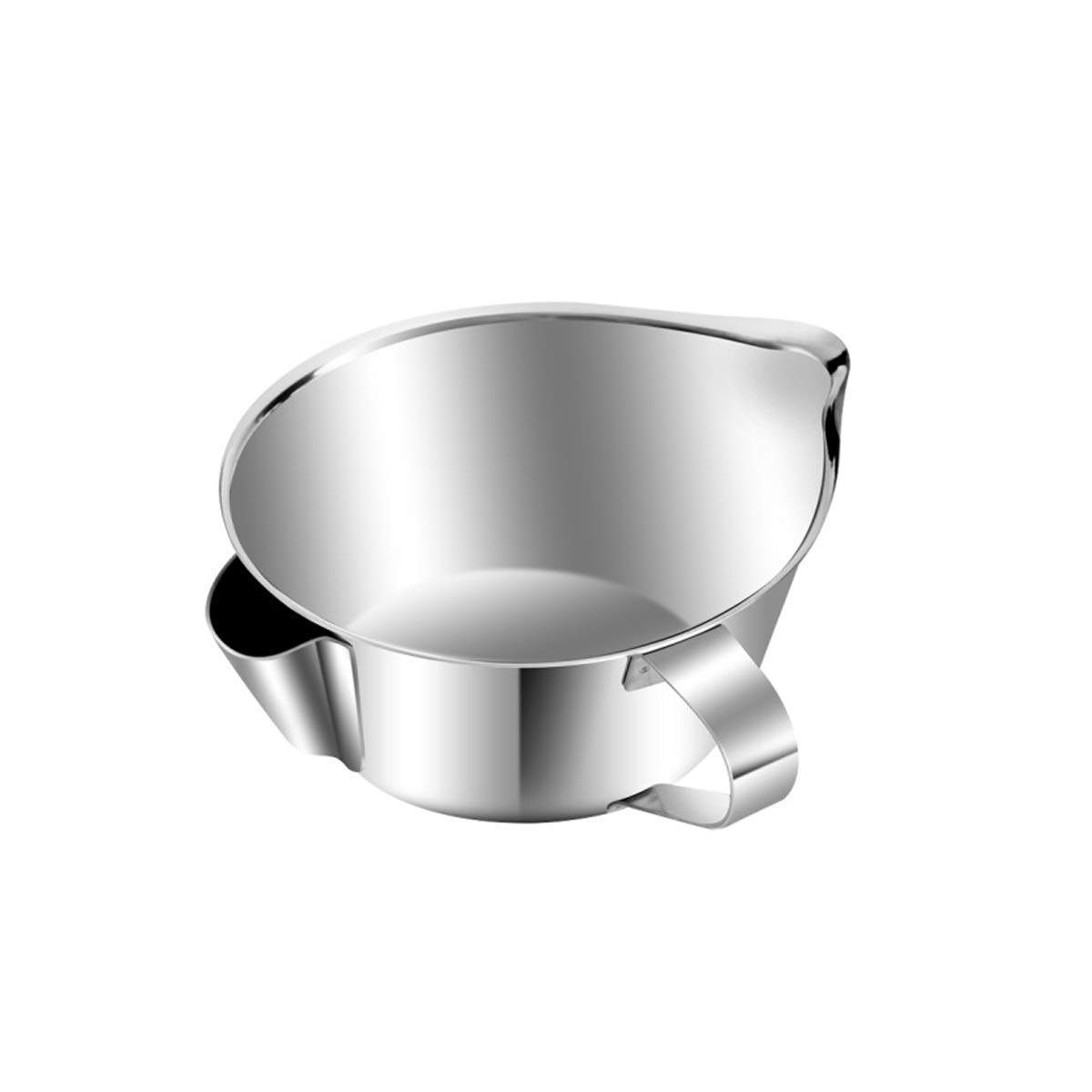 HENGTONGTONGXUN 304 Stainless Steel Oil can Oil Filter Kitchen Household Oil Separation Bowl Oil Plug (Capacity : 470ml) by HENGTONGTONGXUN