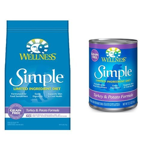 Wellness Well Pack: Simple Limited Ingredient Diet Turkey Natural Wet Canned & Dry Dog Food (Wellness Limited Ingredient)