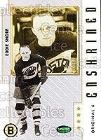 (CI) Eddie Shore Hockey Card 2003-04 Parkhurst Original Six Boston Bruins (base) 89 Eddie Shore