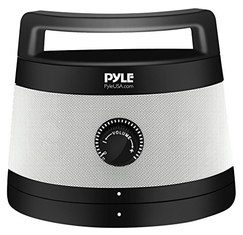 Pyle Wireless TV Speaker | Portable TV Soundbox | TV Audio Hearing Assistance Senior Speaker with Digital Optical Fiber input