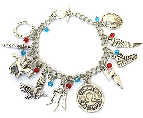 Freeze Adults For Costume Mr (Percy Jackson charm Bracelet (Percy)