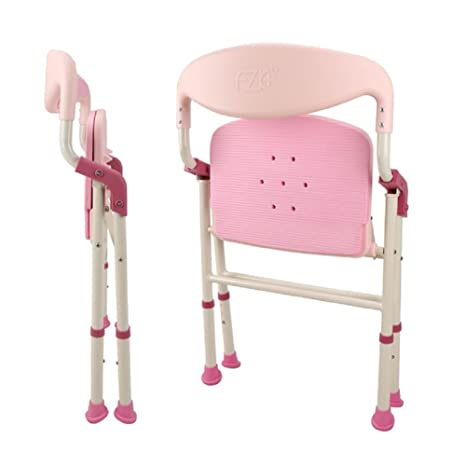 Outstanding Amazon Com Wezhe Folding Bath Chair Bath Seat Comfortable Pdpeps Interior Chair Design Pdpepsorg