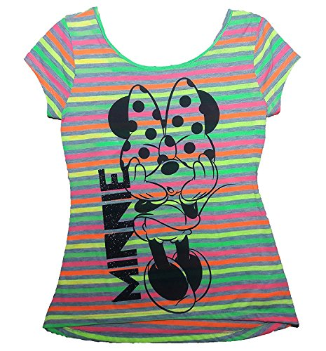 Large X to Shy Juniors Minnie Disney Tshirt Mouse xZ8PqOT1w0